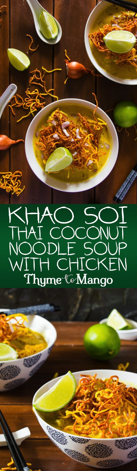 Bask in the aromas of Northern Thailand with this quick and easy Khao Soi Recipe