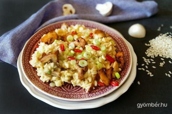 Mushroom risotto   Gombás rizottó recept