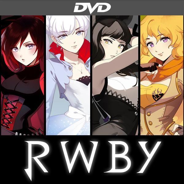 RWBY Volume 1 DVD