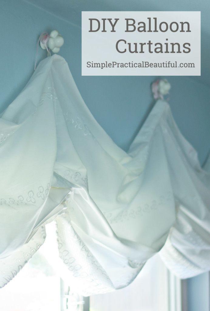 10 Best Ideas About Balloon Curtains On Pinterest
