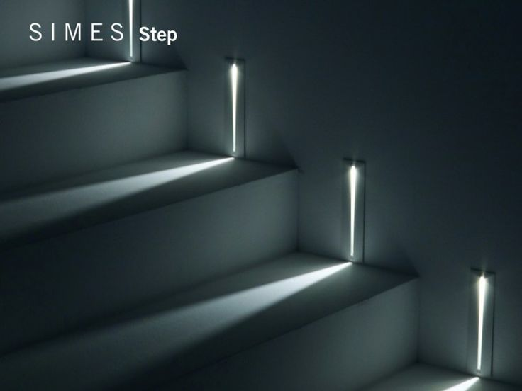 Led marker STEP Step Collection by SIMES stairs