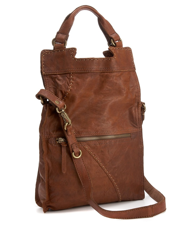 Lucky Brand Handbag Abbey Road Leather Bag Crossbody Messenger Bags Handbags