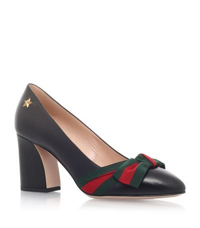 Gucci Aline Bow Pumps 75 available to buy at Harrods. Shop women's designer shoes online and earn Rewards points.