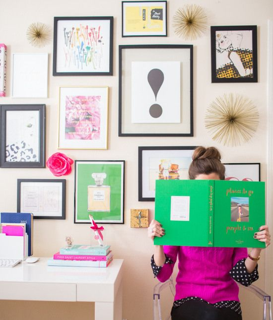 Introducing…Kate Spade Gallery Wall Prints for Sale! my green Chanel print available at www.annechovie.etsy.com