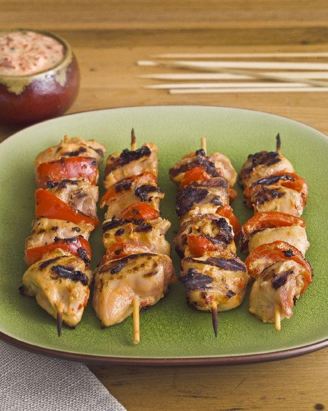 Tapas Ideas For Dinner Party Part - 22: Roasted Pepper Skewers (Tapas). Best Chicken RecipesTapas DinnerTapas ...