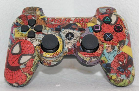 Custom PS3 Wireless Comic Controller xD
