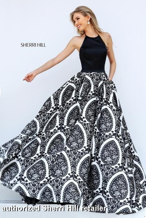 Sherri Hill Prom and Homecoming Dresses Sherri Hill 50577 Sherri Hill One Enchanted Evening - Designer Bridal, Pageant, Prom, Evening & Homecoming Gowns