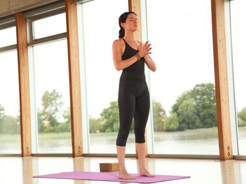 1000 images about easy yoga poses on pinterest  standing