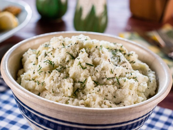 Art Smith's Garlic Mashed Cauliflower Recipe : Trisha Yearwood : Food Network - FoodNetwork.com