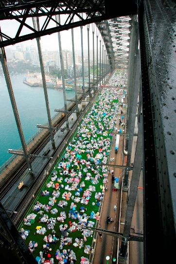 'Breakfast on the Bridge', as part of the Sydney International Food Festival, October 2011- Sydney, Australia
