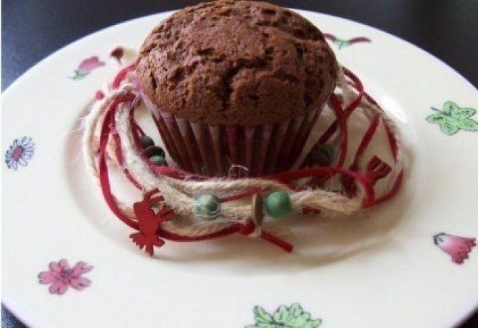 Forralt boros muffin 2. - csokoládés