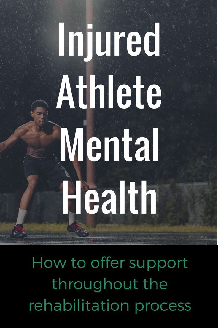 Five Ways To Support Injured Athletes Mental Health Sports