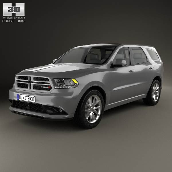 Dodge Durango RT 2014 3d model from humster3d.com. Price: $75