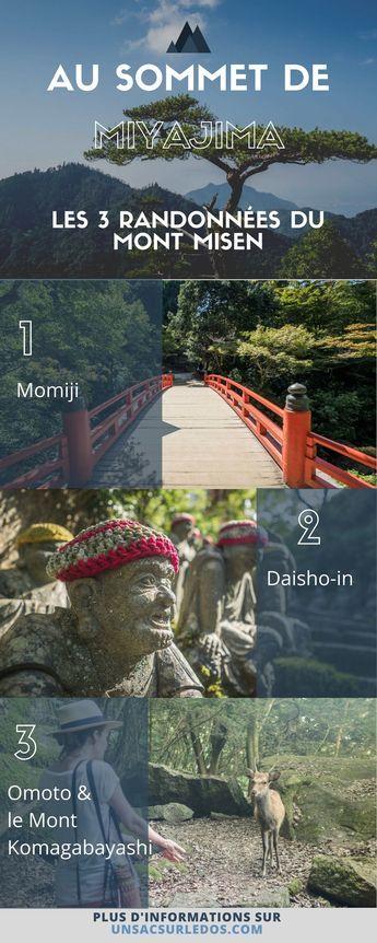 Il paraît qu'on ne connait pas vraiment #Miyajima tant qu'on n'a pas gravi le Mont #Misen… On confirme que cette #randonnée nous a permis de découvrir un pan nouveau de l' #ile ! On vous partage notre récit, #conseils et informations pratiques pour préparer votre #voyage au #Japon. #Asie #trek #marche #montagne #Hiroshima #MontMisen #blogvoyage