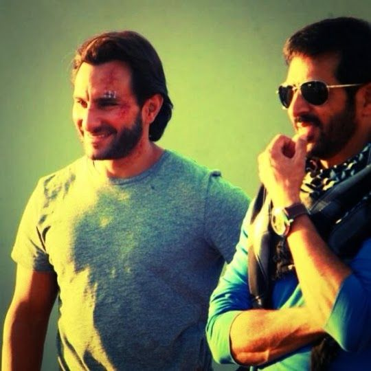 saif ali kha with kabir khan