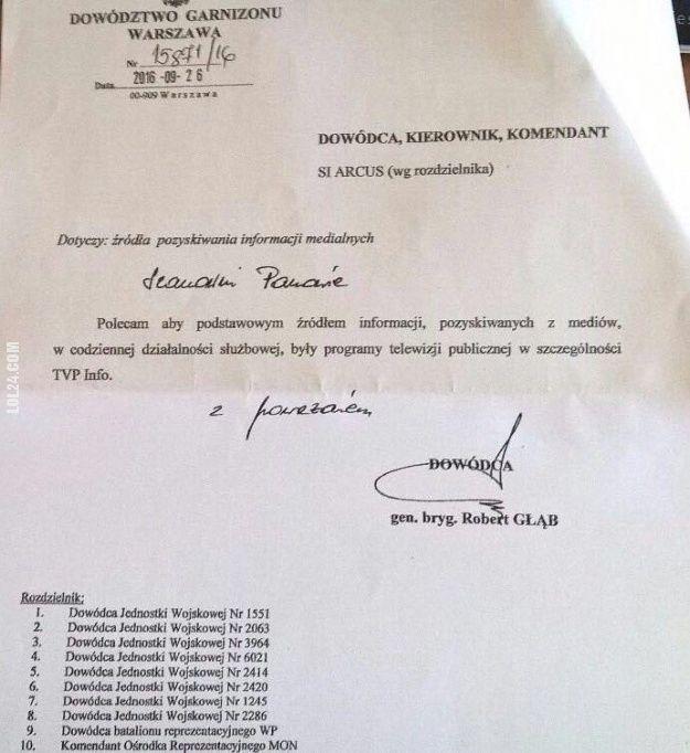 Polscy żołnierze na rozkaz mają oglądać TVP Info? #polscy #żołnierze #na rozkaz #mają #oglądać #tvp #info