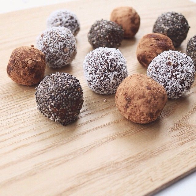 Cacao and Chia Bliss Balls / The Stable Co