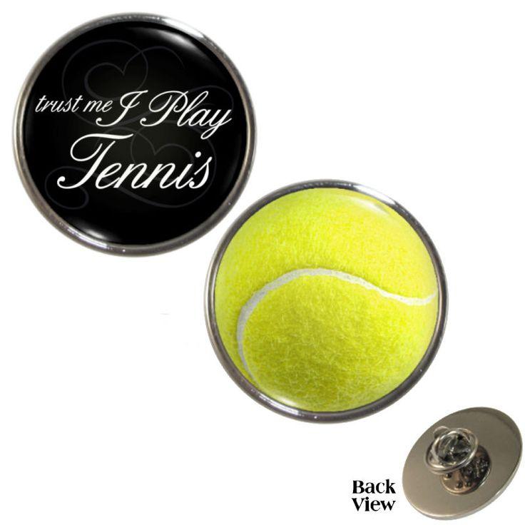 2 Pack Trust Me I Play Tennis & Tennis Ball Pin Badge Set wimbledon open NEW    eBay