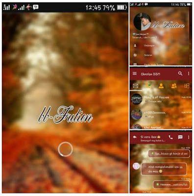 BBM Mod Fution Apk 2017