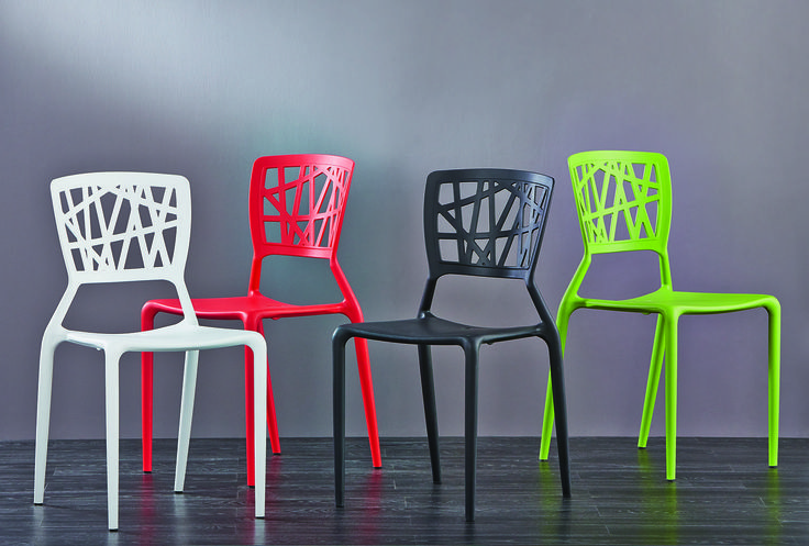 The brand new replica Viento dining chairs, available in white, red, black and green, are perfect for a spring spruce up. Stackable and lightweight, they can be used either indoors or outdoors while enjoying an alfresco lunch. Price $49.