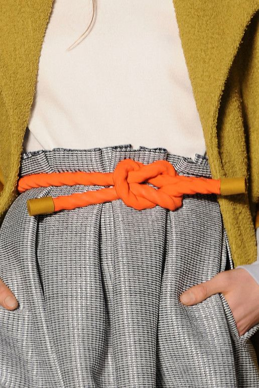 ROKSANDA ILINCIC Spring Fashion  Rope Belts are so chic!