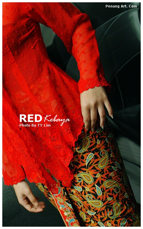 Red Kebaya