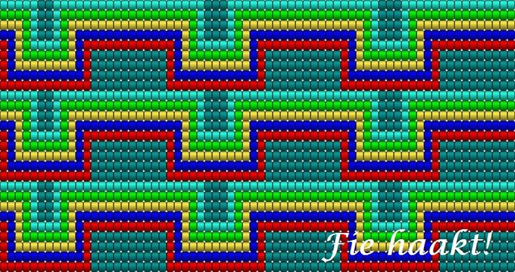 Zijkant, eigen patroon
