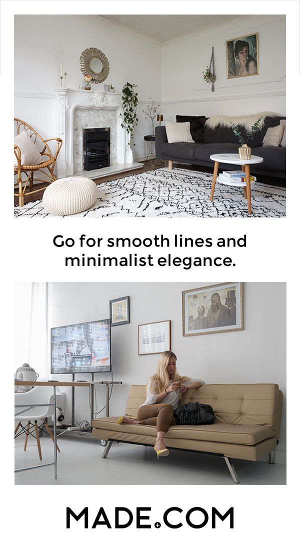 Scandinavian design takes its inspiration right from the landscape. Pale shades and smooth lines are ideal for the minimalist in you. And if you're not quite managing a zen-like clutter free space, that's where the clever storage really comes into its own.