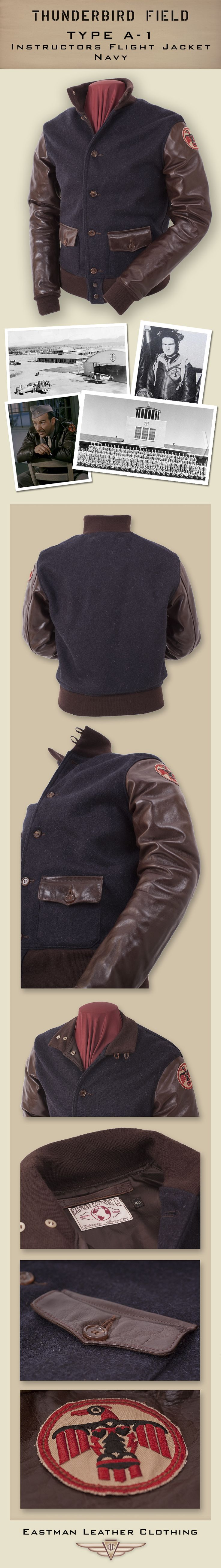 Eastman Leather Clothing - Civilian Design Classics : Tb A-1 Nvy
