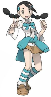 I think it would be funny to cosplay as myself...huehuehue But seriously. Add this to the list of future cosplays. Candice, the ice type gym leader from diamond/pearl Pokemon!