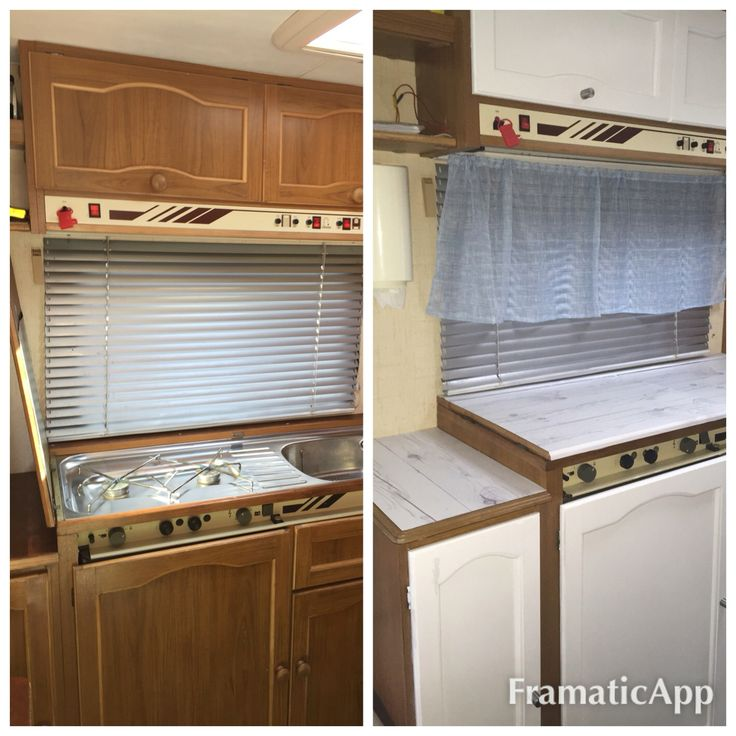 Makeover my old rv camper 😃