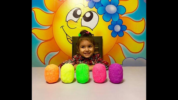 Сюрпризы из шариково пластилина с Принцессами Дисней. Princess Disney su...
