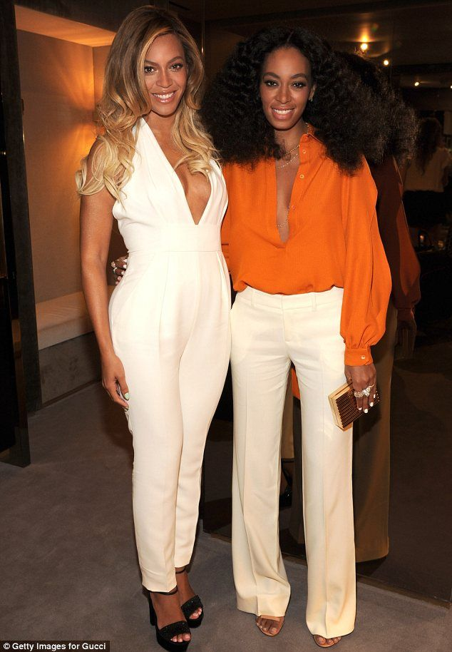 What family feud? Beyonce and Solange Knowles put the incident of Solange attacking her sibling's husband Jay Z behind them to cuddle up at ...