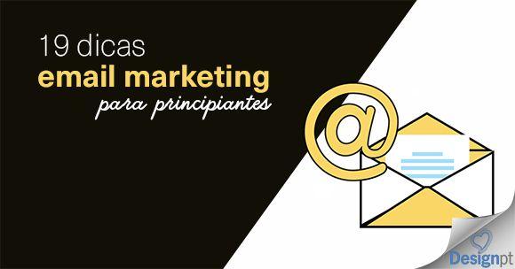 Pode levar anos para conseguir dominar o email marketing, mas pode poupar tempo ao ler estas 19 dicas. https://designportugal.net/19-dicas-email-marketing-principiantes/
