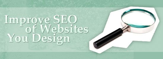 9 Ways To Improve the SEO of Every Website You Design. More SEO help at http://getonthemap.us/search-engine-optimization #573tips #SEO
