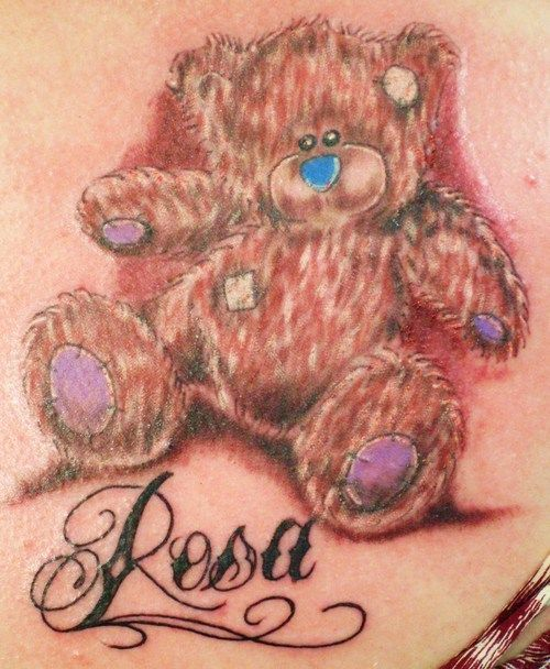 Tattoo Picture At Checkoutmyink Com: 25 Best Cartoon Bear Tattoos Images On Pinterest