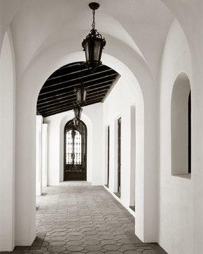 North Bay Road Residence - mediterranean - hall - miami - Jarosz Architect, P.A.