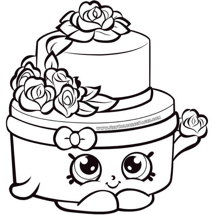 Shopkins Season 7 Wedding Cake Coloring Page Shopkin Coloring Pages Shopkins Colouring Pages Shopkins Colouring Book