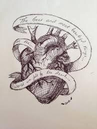 Resultado de imagen para real heart tattoo designs
