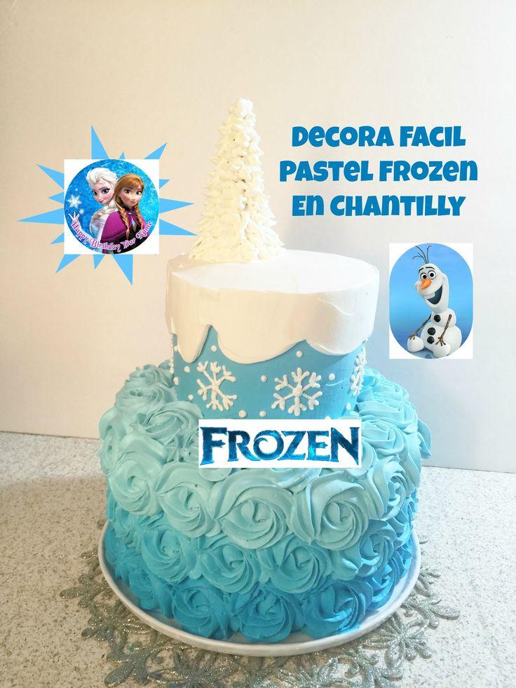 En este tutorial podrás aprender cómo hacer un pastel de frozen en chantilly muy fácil y muy bonito! Suscríbete a mi canal y aprenderás recetas, decoración y...