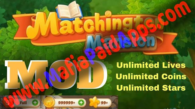 Matchington Mansion: Match-3 Home Decor Adventure 1.9.1 Mod (Coin/Live/Star) Apk  Data for android    Matchington Mansion: Match-3 Home Decor Adventure Mod (Coin/Live/Star) Apk  Matchington Mansion: Match-3 Home Decor Adventure is a Puzzle Game for android  Download last version of Matchington Mansion: Match-3 Home Decor Adventure Apk  Mod (Coin/Live/Star)  Data for android from MafiaPaidApps with direct link  Decorate your mansion with a match-3 makeover puzzle game! Design new home decor…