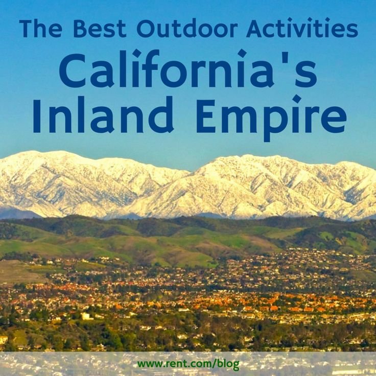 Known as the Inland Empire, Riverside-San Bernardino is a metropolitan area in Southern California with an abundance of unique and fun things to do. If you're an outdoors lover, make sure you don't miss out on these fun activities!