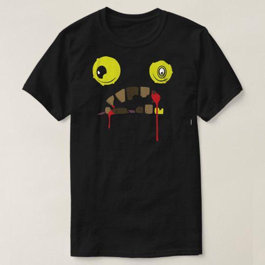 Face Zombie Halloween Custom Shirts