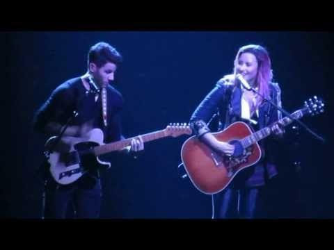 Catch Me- Demi Lovato and Nick Jonas, San Jose, CA 2/11/14