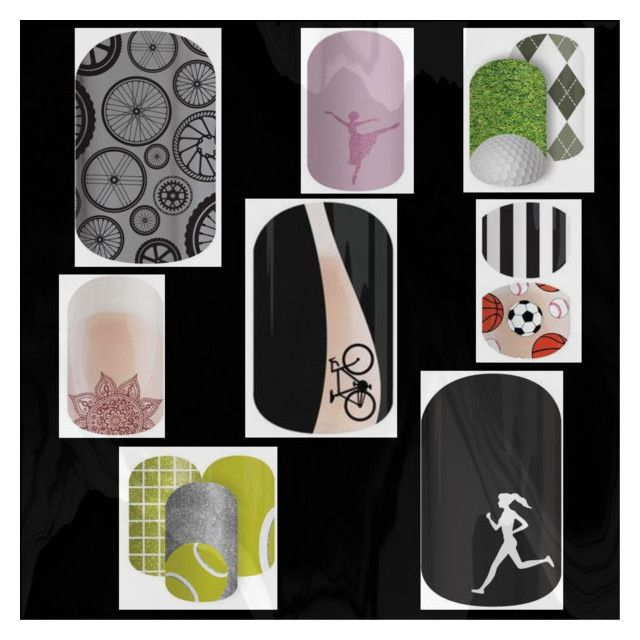 """""""Jamberry Sports & Hobbies"""" by natgschaefer on Polyvore featuring beauty"""