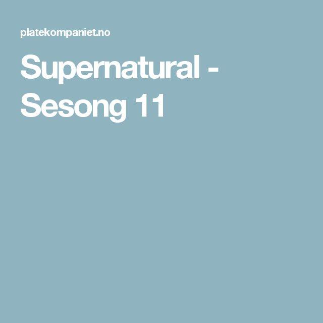 Supernatural - Sesong 11