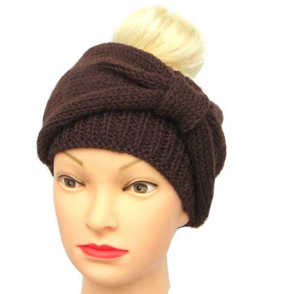 Stirnbänder - Stirnband Schleife Merino - ein Designerstück von Maiblume-fiore-di-maggio bei DaWanda