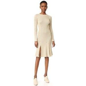 Cedric Charlier Long Sleeve Dress