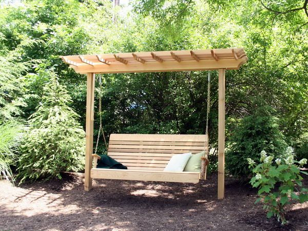 Porch Swings with Stands Outdoor Patio Swing Gliders Ideas