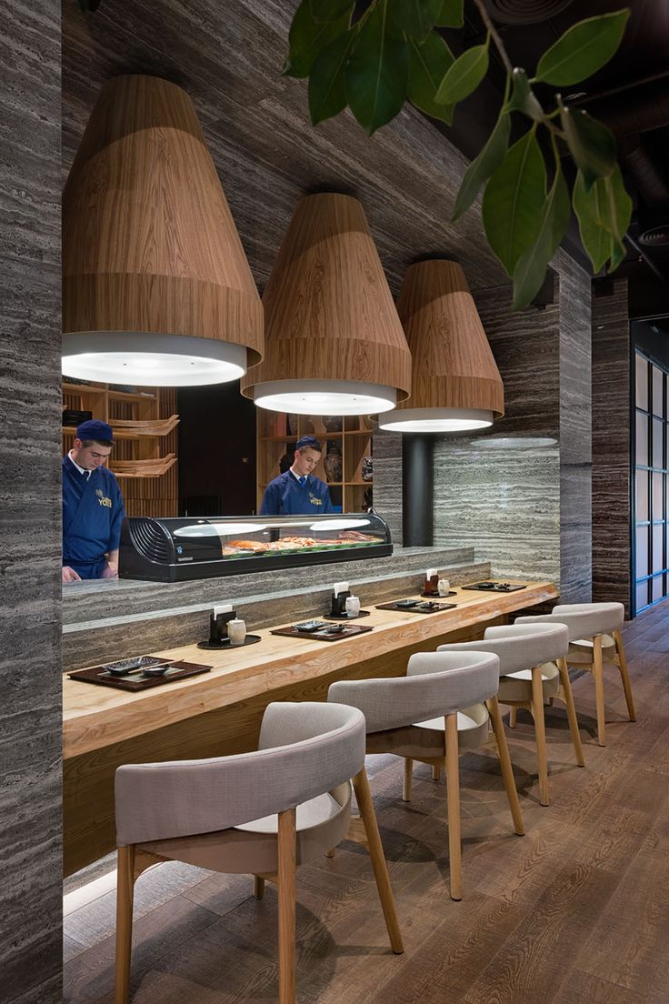 Sergey Makhno Architects creates Japanese restaurant interior with Ukrainian soul in Kiev